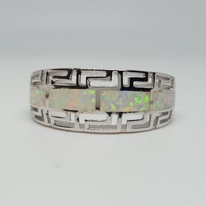 Jewelry - Sterling Silver Greek Pattern Ring